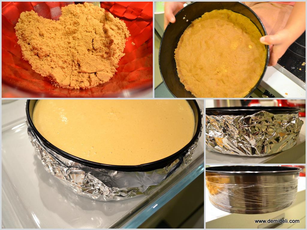 Cheesecake με κάστανο