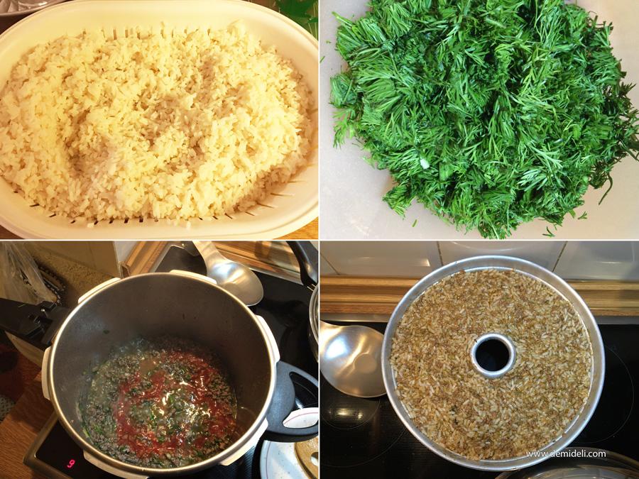 Ρύζι  με κιμά και μυρωδικά